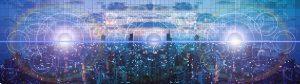 Abstrakti kuva verkostoista